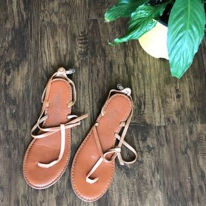 Coral AEO Sandals